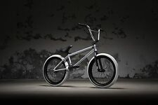 WEST KINK 2018 CURB SILVER FOX BMX BICYCLE BMX BIKE BMX FREESTYLE BMX STREET