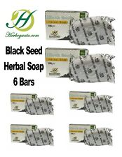 Lot of 6 Black Seed Herbal Soap Black Seed Oil All Natural For Skin Shine&Glow
