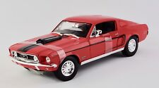 1968 Ford Mustang GT Cobra Jet 1:18 Model Car Maisto Special Edition, New