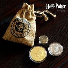 3PCS Harry Potter Hogwarts Gringotts Bank Wizarding Galleons Commemorative Coin!