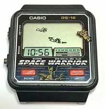 VINTAGE CASIO GAME WATCH GS-16 SPACE WARRIOR