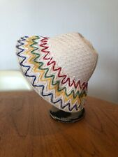 Vintage French New Old Stock Childs Summer Hat Bonnet 60s 70s Retro