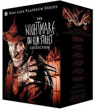 The Nightmare on Elm Street Collection (DVD 8 disc box) Robert Englund NEW