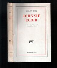 ROMAIN GARY/JOHNNIE COEUR/EDITION ORIGINALE 1961/COMEDIE EN DEUX ACTES/GALLIMARD