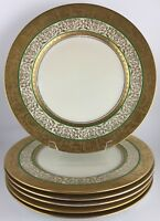 Hutschenreuther Royal Bavarian set of 6 gold encrusted dinner plates BR09/17