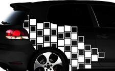 Hexagon Pixel Cyber Camouflage XXL Set Auto Aufkleber Sticker Tuning Wandtatto20