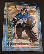 MIIKKA KIPRUSOFF 1994-95 Finest ROOKIE Card #125 NO Peel Coating ONLY RC HTF!