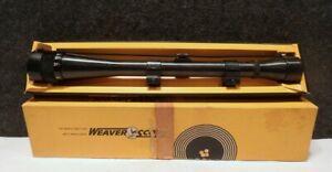 VINTAGE MINT IN BOX Weaver K12-60-2 RIFLE Scope CROSSHAIR RETICLE El Paso TX USA