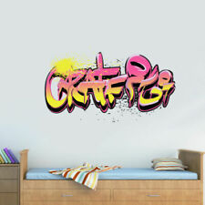 Full Color Wall Decal Sticker Like Painting Graffiti Words Quote Sign (Col698)