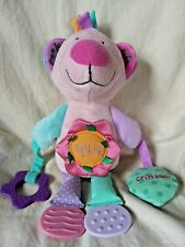 Manhattan Toy Squeak Bear Plush Animal Soft Baby Teething Toy