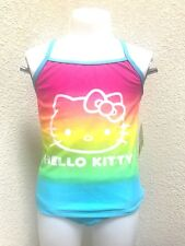 Authentic Hello Kitty Girls Two Pcs Swim Bathing Suit Size M, L NEW