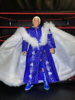 WWE WCW DEFINING MOMENTS RIC FLAIR ELITE WRESTLEMANIA 24 WRESTLING FIGURE