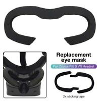 PU Facial Interface Foam Cover Pad Replacement For Oculus Rift S VR Headset