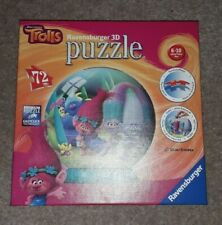Trolls 72 Piece 3D Puzzle 6-10 Years