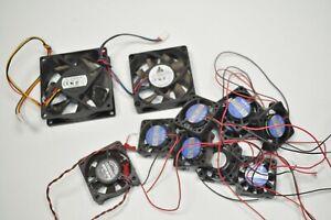 LOT of 11 Interfan Delta Elina Desktop Cooling Fans # DSB0812L ; PO006-24D-1B-2