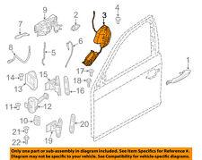 BMW OEM 11-13 M3 Front Door-Lock Actuator Motor 51217229458