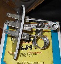NOS 1984 Corvette 1982-92 Camaro Firebird Heater Blower Motor Resistor