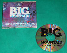 Big Mountain - Let´s stay together BRAZIL ONLY PROMO CD 1997 VP0213 Al Green