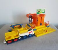 1989 Tomy Trackmaster Freight Station Pieces Plarail Vintage