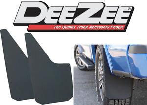 "Dee Zee DZ17939 11"" x 18"" Universal Plastic Mud Flaps 2 Pack New Free Shipping"