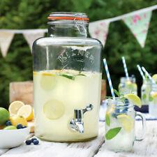 Kilner Garden Party Drinks Dispenser 8ltr | Vintage Beverage Lemonade Jar