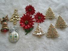 Christmas fashion jewelry lot 10 pieces