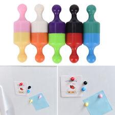 2x Strong Neodymium Noticeboard Skittle Men Pin Magnets Fridge Diy Whiteboard