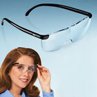 Professional Unisex Lesebrillen Big Vision Vergrößerungs Brille, Freihand-Lupe^