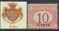 Italy Libia - Tax Sassone n. 2  MNH**