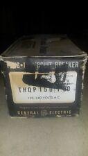 GE THQP150 1P 50 AMP 120 VOLT 10kA Thin Circuit Breaker NEW BOX OF 12