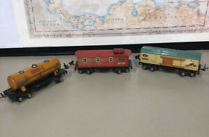 LIONEL R-R LINES  1679 Baby Ruth Box Car, 1680 Shell Tanker&1682 Caboose