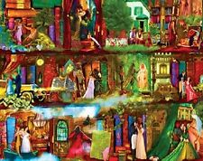 Jigsaw Puzzle Bookcase Once Upon a Shelf Literature of Love 750 pieces NEW