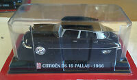 "DIE CAST "" CITROEN DS 19 PALLAS - 1966 "" SCALA 1/43 AUTO PLUS + BOX 1"