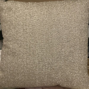 Hudson Park Collection Luxe Frame Decorative Pillow 18 X 18 New $230