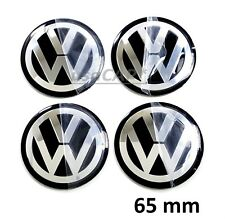 VW 65mm Wheel Center Hub Cap Decals Emblem STICKERS VOLKSWAGEN CENTER CAPS 2.5""