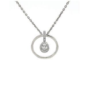 Messika Paris Glam'Azone Graphic Diamond Necklace 18k White Gold