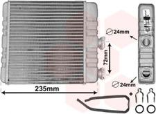Wärmetauscher, Innenraumheizung für Heizung/Lüftung VAN WEZEL 37006321