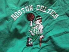Vintage Bonnie Label - BOSTON CELTICS Ball Boy Embroidered Zippered (MED) Jacket