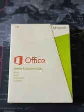 Microsoft MS Office Home and Student 2013 32/64 Bit FPP BOX EUROZONE Word Excel