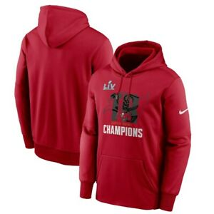 Tampa Bay Buccaneers Nike Super Bowl LV Champions Local Therma Pullover Hoodie