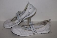Skechers Bikers MJ Woven Casual Shoes, #11436, White/Blue, Womens US 7.5