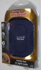 NIB Security Dr Media Vault Combination Locking Case Holds 6 DVD & 16 Cards  Mb