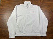 Polo Sport 1/4 Zip Sweatshirt White Large G