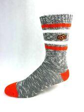 Oklahoma State Cowboys College Tweed Gray Alpine Crew Socks