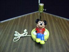 Walt Disney MICKEY MOUSE Lamp Working