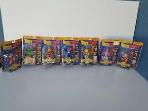 2002 Dragon Ball Z Dabura Striking Fighters Irwin Toy Action FigureLOT OF 7 MINT