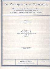 Les Classiques de la Contrebasse - No. 5. Gigue extraite de la 1ère Suite pour V