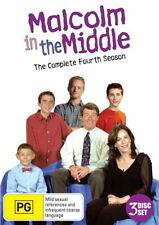 very good condition  Malcolm In The Middle : Season 4 (DVD, 2013, 3-Disc Set)t60