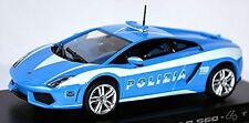 Lamborghini Gallardo LP 560-4 Polizia Italy blau blue 1:43