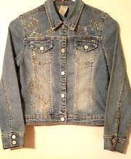 Limited Too Girls Jean Jacket Kids Size S /10